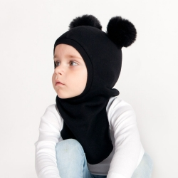 Black Toddler hat helmet