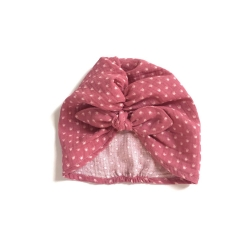 Double gauze Turban hat