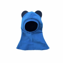 Blue baby bear hat balaclava