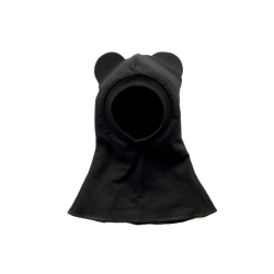 Black baby bear hat balaclava