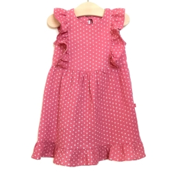 Double gauze girl dress