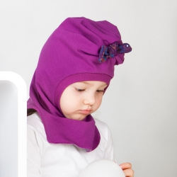 Turban hat helmet (Purple)